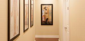 Hallway, Atlanta Acupuncture clinic Absolute Holistic Medicine